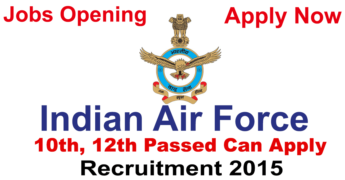 Indian Air Force LDC & MTS Posts Recruitment 2015