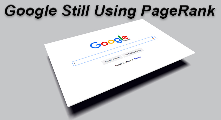 Off-page SEO Google still using PageRank