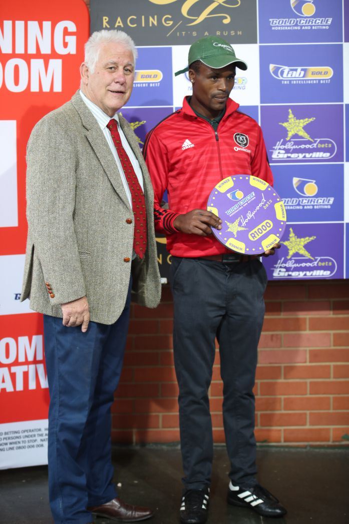 Grooms' Initiative Winners - 19th January 2020 - Hollywoodbets Greyville - Race 7 - Nkosinathi Molefe - G G'S DYNASTY