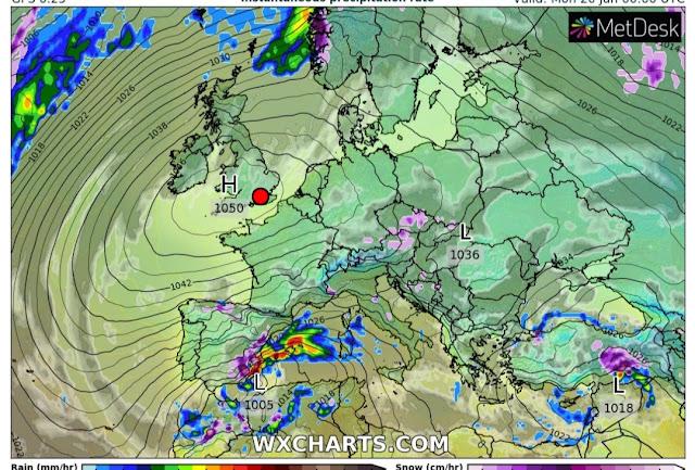 Πως θα επηρεάσει την Ελλάδα ο γιγαντιαίος αντικυκλώνας που σχηματίζεται στην Ευρώπη