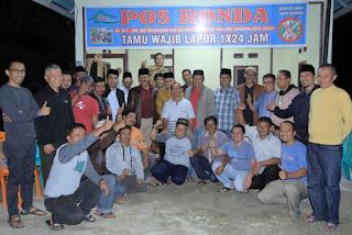 Langka, Tiga Legislator dan Lima Mantan DPRD Bersilaturahim dengan Masyarakat di Griya Ampang Kualo