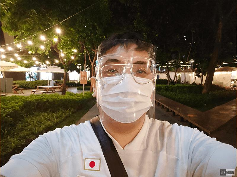 Selfie lowlight
