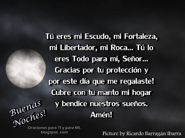 Tú eres mi Escudo, mi Fortaleza, mi Libertador, mi Roca... Tú lo eres Todo para mí, Señor...
