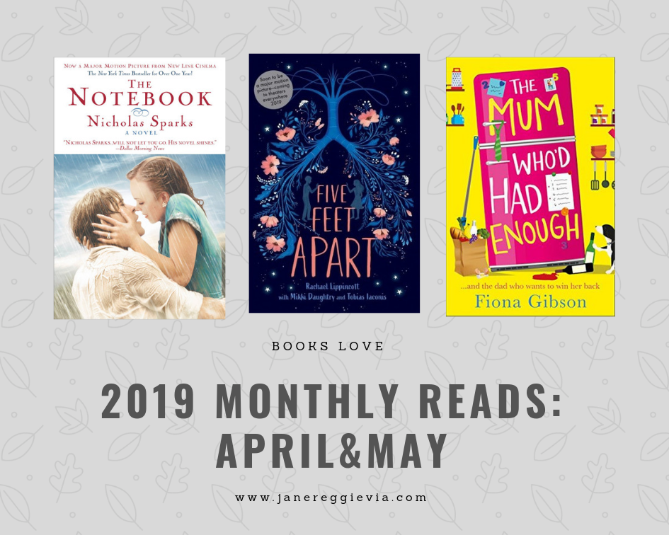 2019 Monthly Reads: April and May Edition