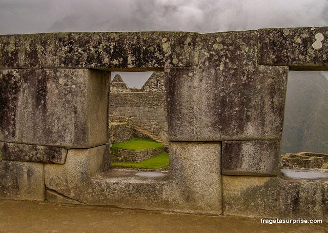 Templo das Três janelas, Machu Picchu, Peru