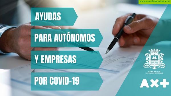 El Ayuntamiento de Los Llanos recuerda que el lunes 11 finaliza el plazo de presentación de solicitudes para ayudas a empresarios y autónomos
