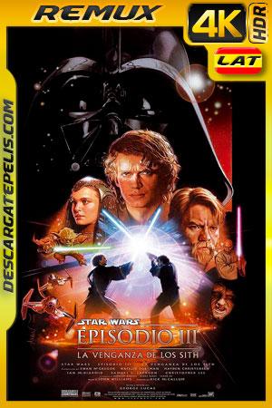 Star Wars Episodio III La venganza de los Sith (2005) 4k BDRemux HDR Latino – Ingles