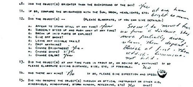 A volt amerikai elnök, Jimmy Carter hivatalosan dokumentált UFO észlelése
