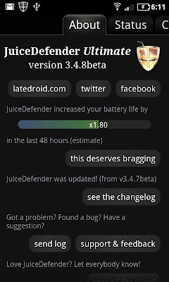 JuiceDefender Ultimate for Android