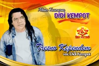 Lirik Lagu Tresno Kependem - Didi Kempot