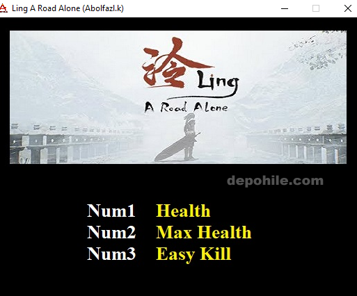 Ling A Road Alone (PC) Kolay Kill ve Can +3 Trainer Hilesi