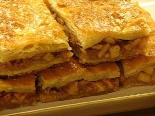старинный рецепт быстрого яблочного пирога