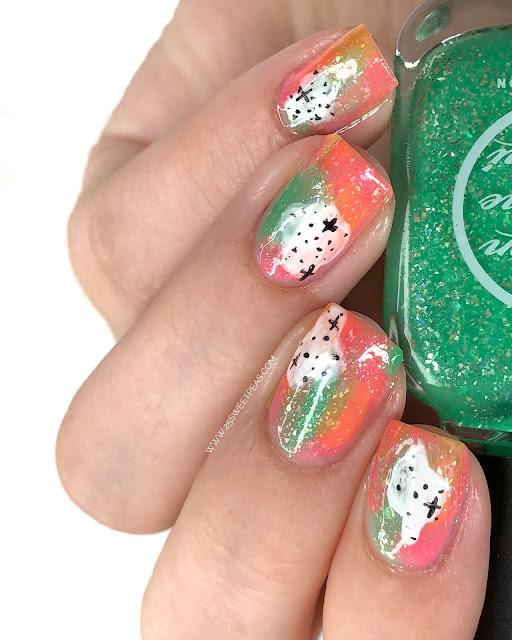 Easy Abstract Nail Art - 25 Sweetpeas