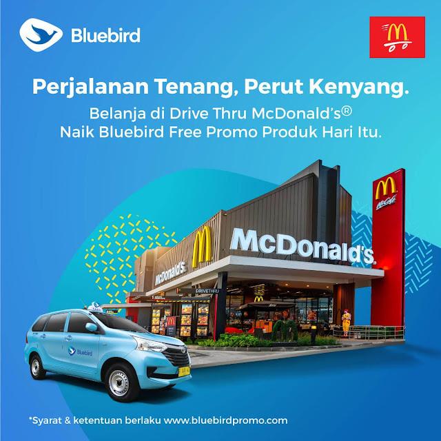 #BlueBird - #Promo Free Produk Dari Drive Thru Mc Donald's (s.d 28 Feb 2020)
