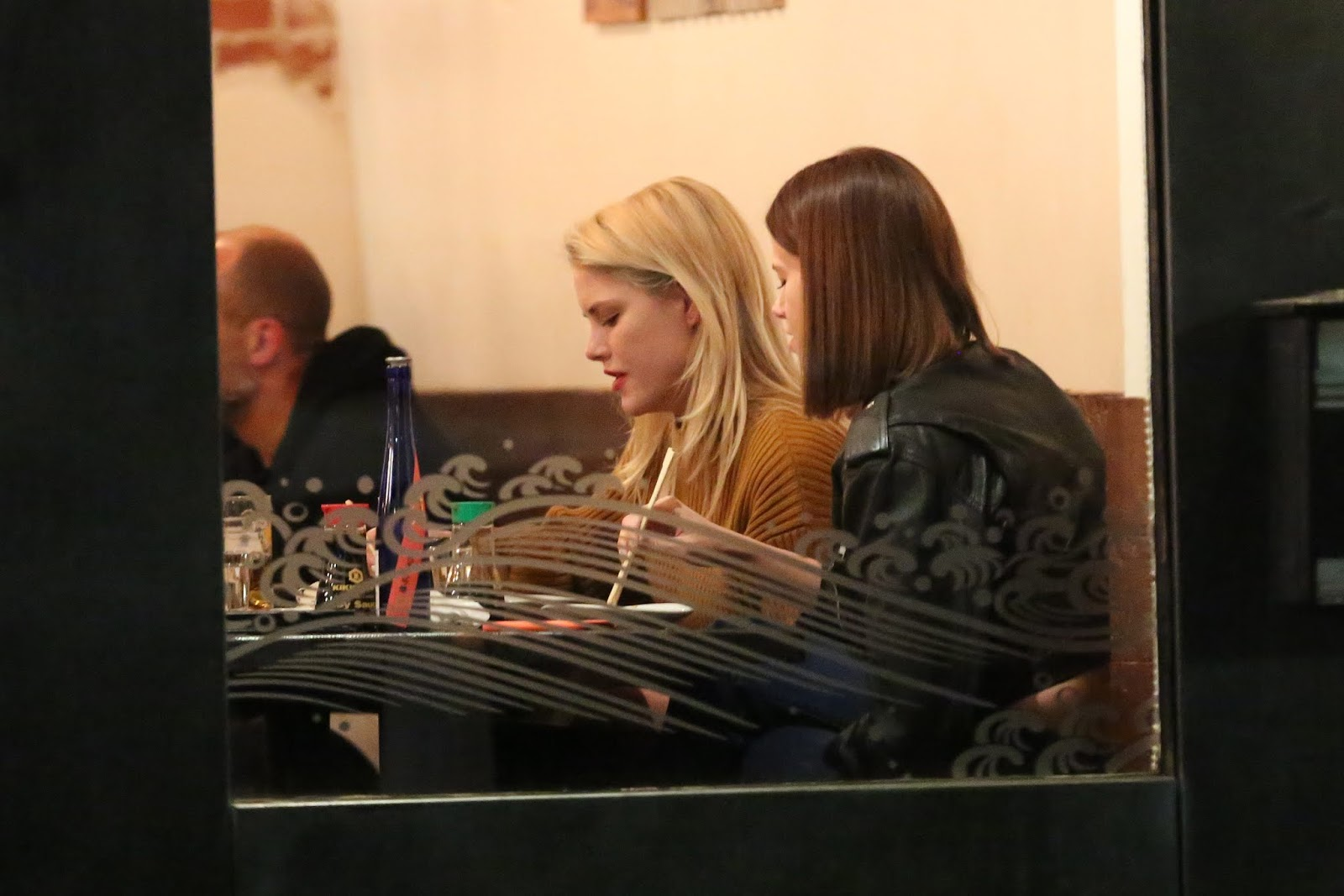 Hailey Clauson - romantic dinner date at IZAKA-YA by KATSU-YA in West Hollywood - 02/09/2019