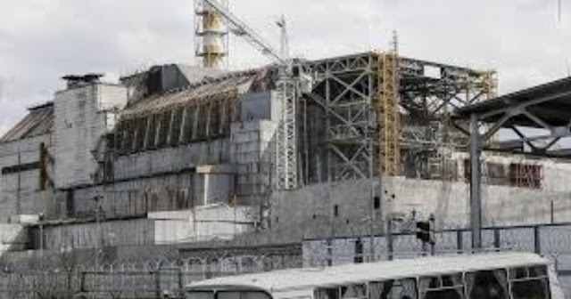 Chernobyl workers in Ukraine saw a record increase in nuclear activity