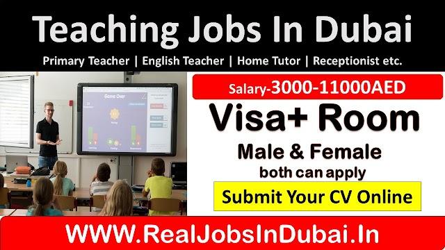 Teaching JObs In Dubai With Good Salaries and Benefits - UAE 2020
