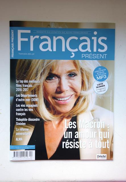 """Français Présent 44/2018"" - okładka czasopisma - Francuski przy kawie"