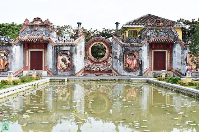 Ba Mu Temple Gate, Hoi An