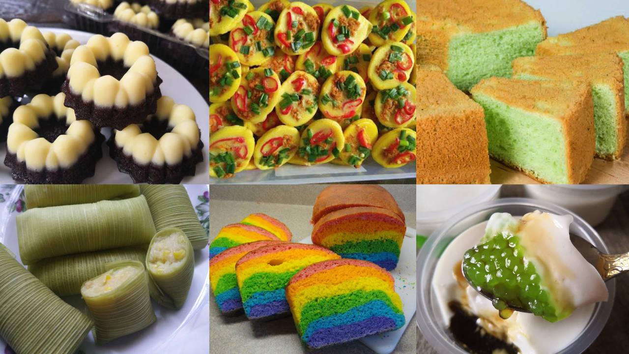Resepi Bakeri Kuih Dan Kek Sesuai Untuk Berniaga