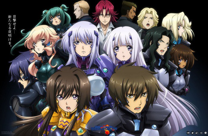 Review Anime Muv Luv Alternative Total Eclipse