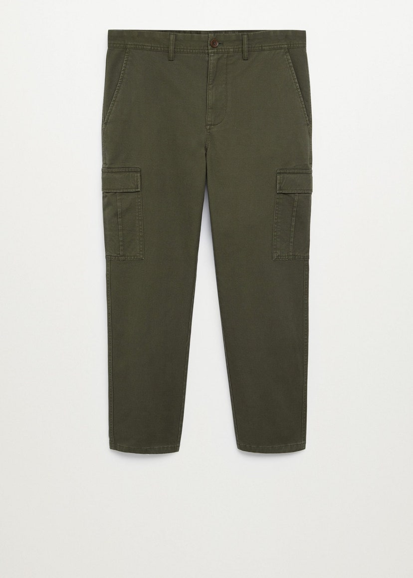 Cargo trousers, by Mango