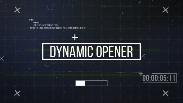 Dynamic Opener[Videohive][After Effects][20500478]