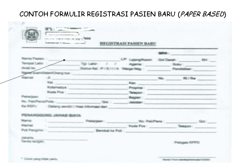 Contoh Medical Form Dalam Bahasa Inggris Barisan Contoh