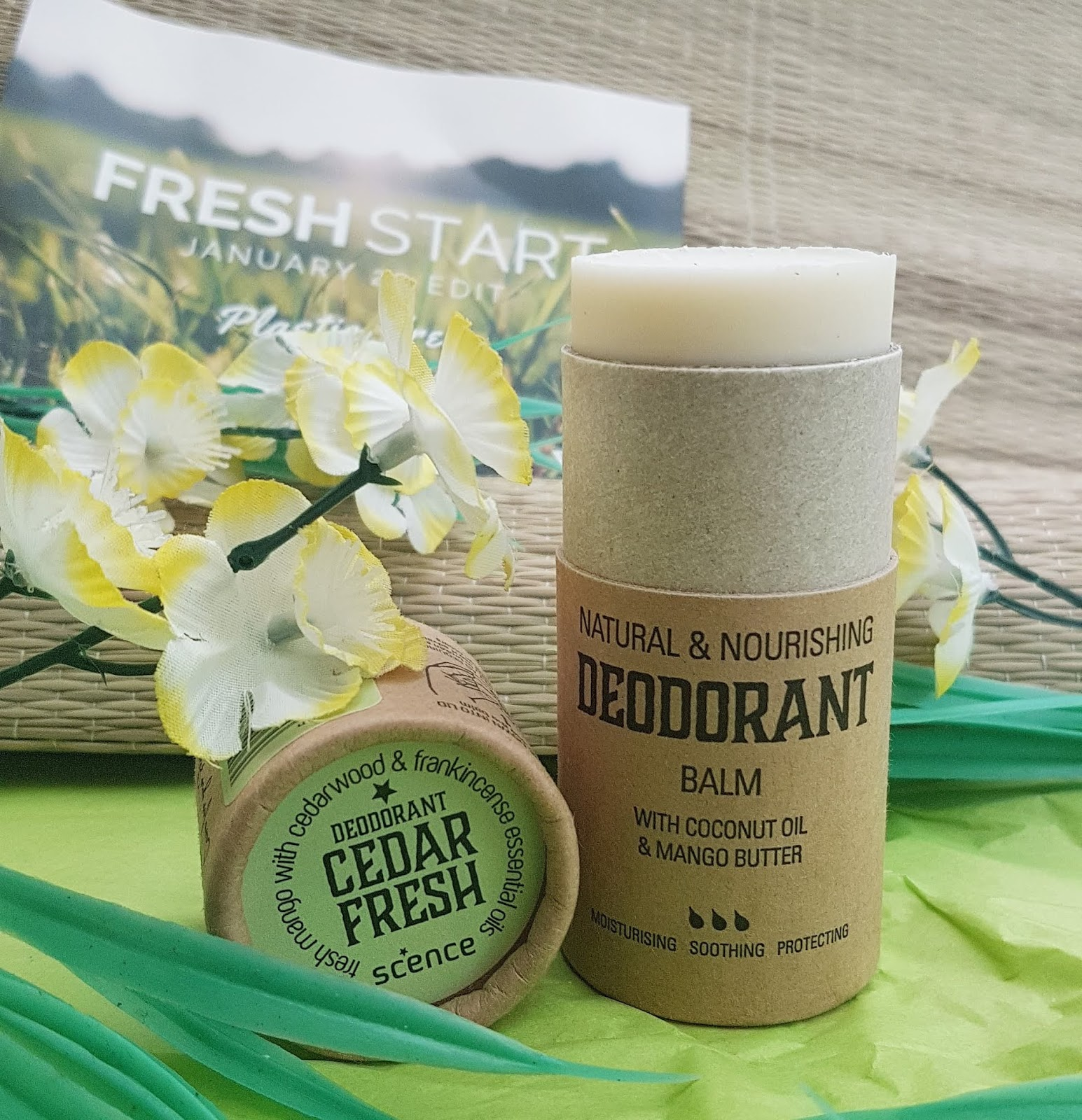 The Natural Beauty Box - Scence Cedar Fresh Deodorant Review