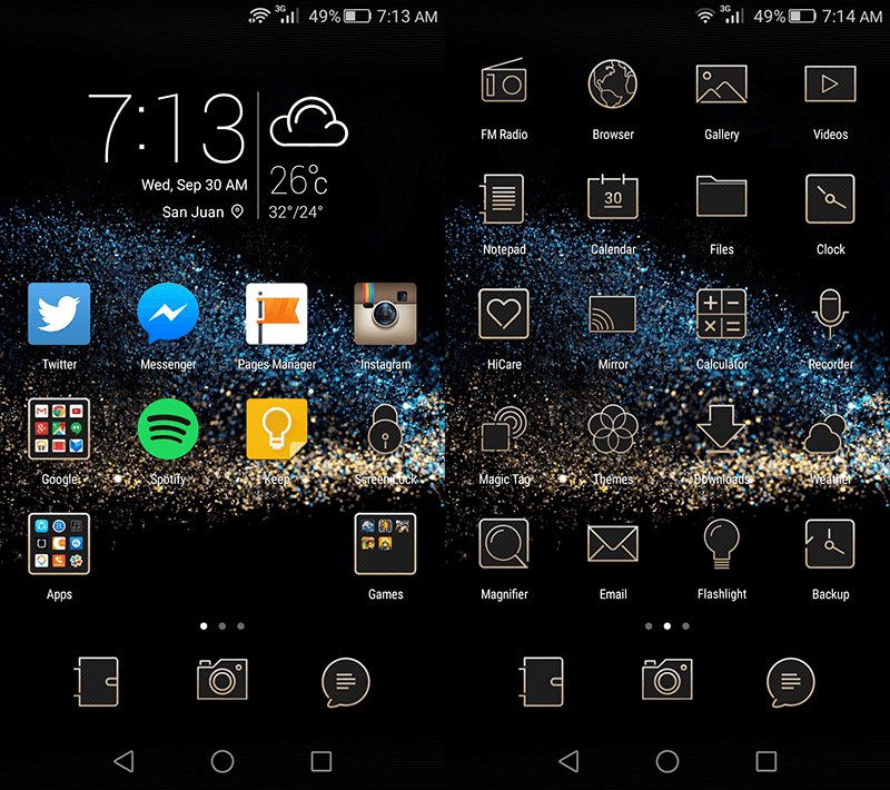 Lollipop UI of Honor 6 Plus