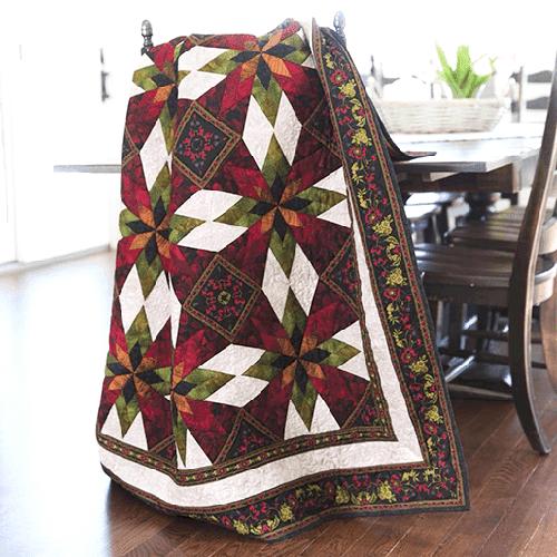 Midnight Garden Quilt Pattern