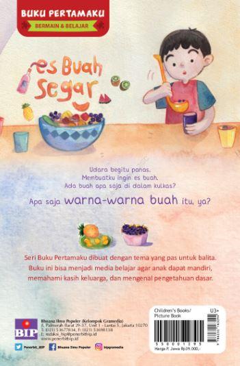 Review Buku Anak Es Buah Segar | Penulis Watiek Ideo dan Nindia Maya