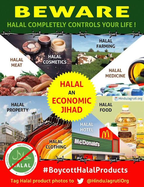 BOYCOTT HALAL PRODUCTS