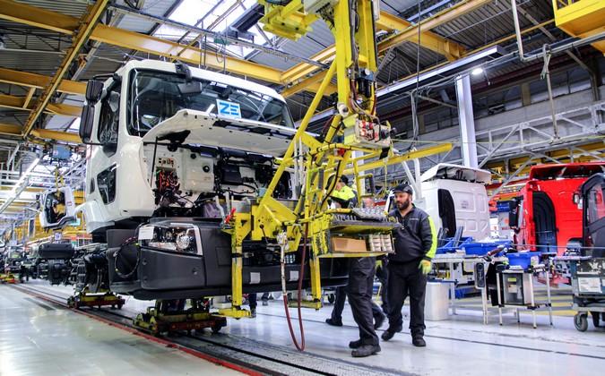 Renault Trucks inicia a produção de caminhões elétricos