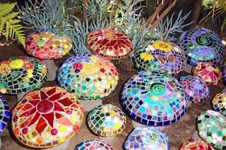 objetos conb mosaicos