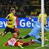 """Com boicote de torcedores e """"público ruim"""", Dortmund tropeça diante do Augsburg em casa"""