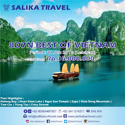 8D7N Best of Vietnam Lebaran - Salika Travel