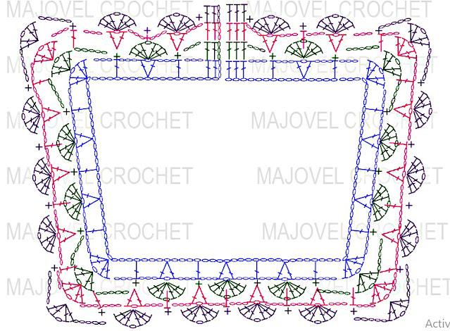 Pattern Crochet Imagenes Bolero a crochet y ganchillo por Majovel Crochet 2