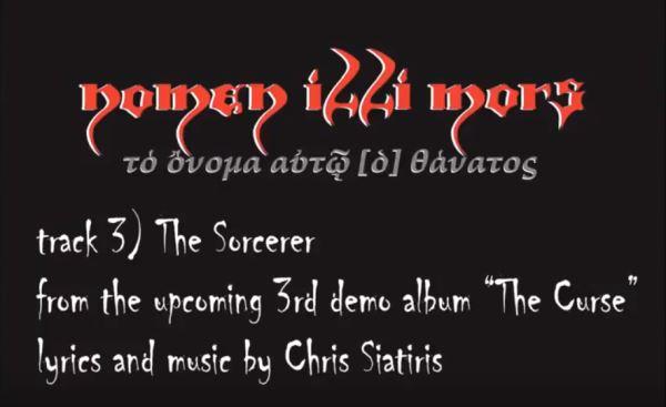 "NOMEN ILLI MORS: Ακούστε το νέο κομμάτι ""The Sorcerer"""