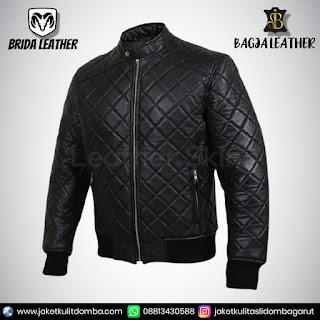 jaket kulit metal