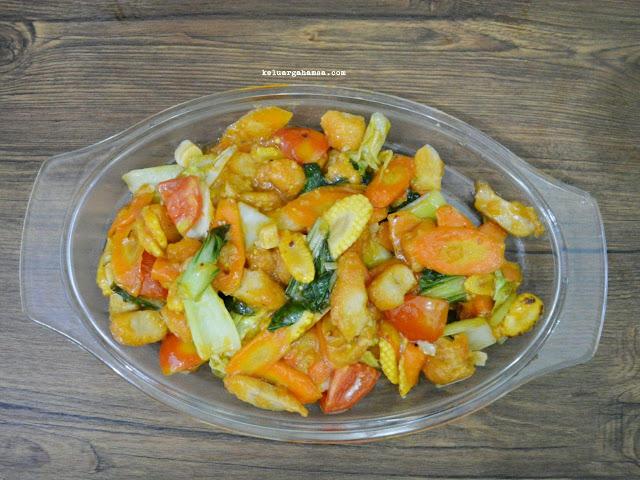 Resep Capcay Sayuran Dengan So Good Chicken Stick Premium