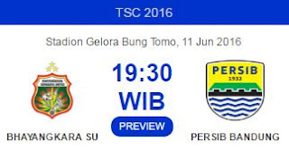 Bhayangkara Surabaya United vs Persib Bandung
