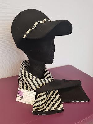 Patouche Chapeaux casquette baseball en feutre mérinos chapeau hiver