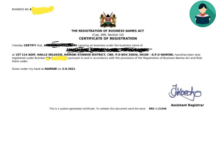 How to Register a Business Name in Kenya