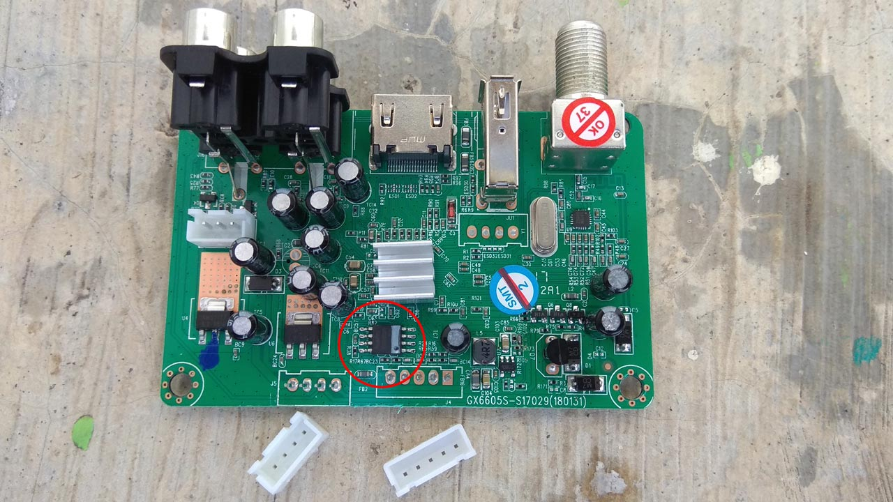 Cara Mengganti IC Eeprom Receiver Matrix Burger S8 HD