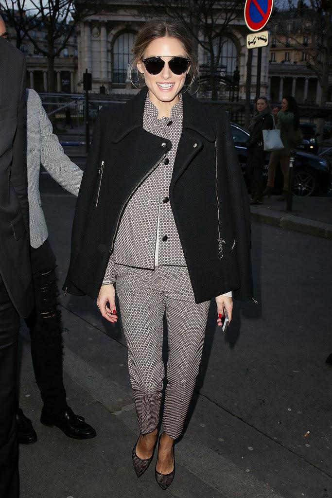 The Olivia Palermo Lookbook : Paris Fashion Week 2014 ...
