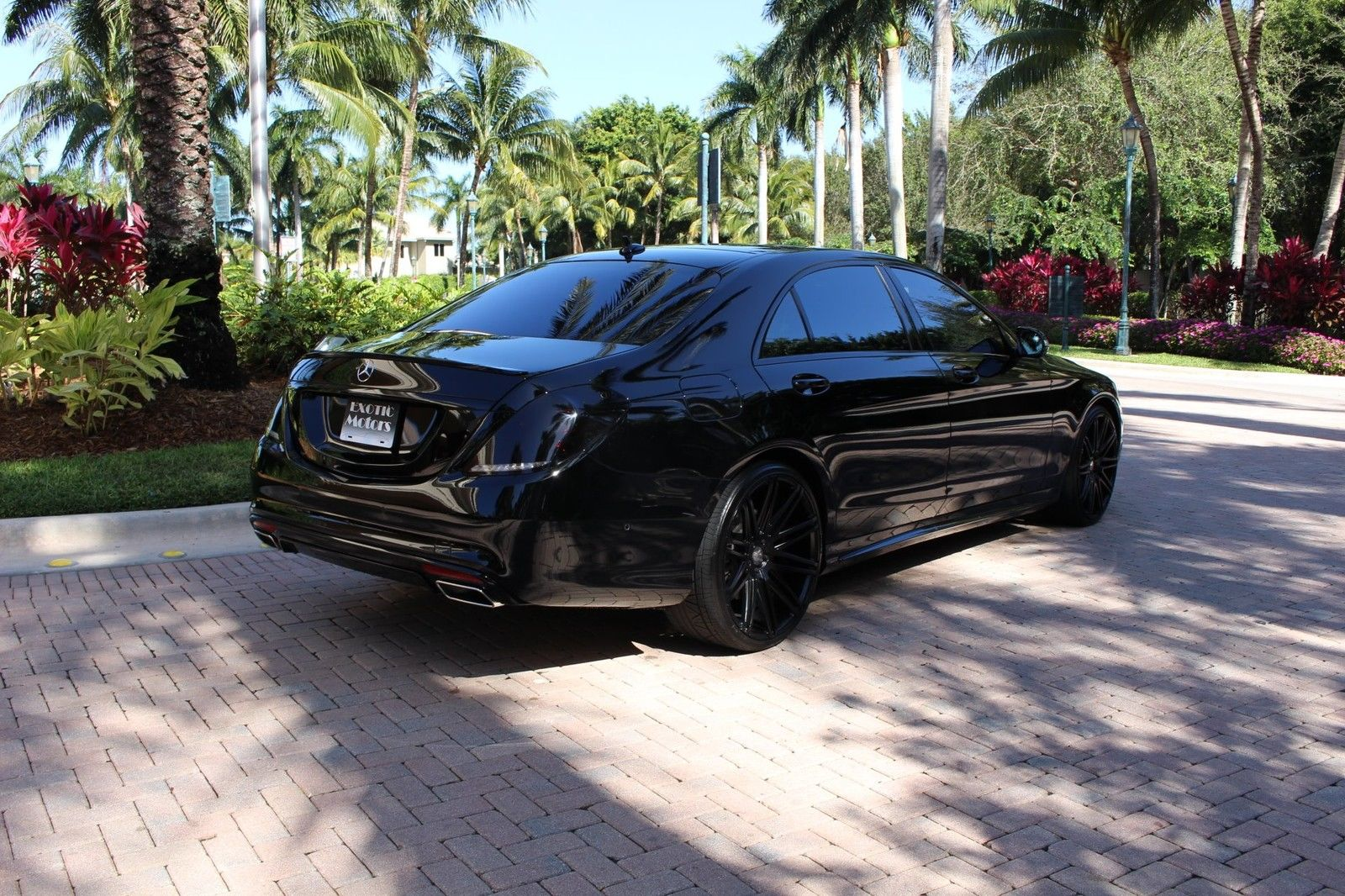 2016 mercedes benz w222 s550 all black benztuning for Mercedes benz all