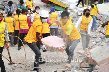 Earthquake relief efforts for 700 earthquake stricken regions in Nepal