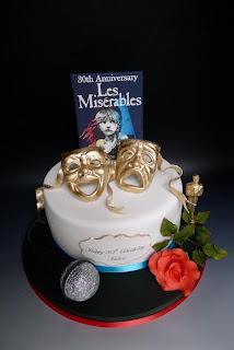 Resultado de imagen de les miserables cake