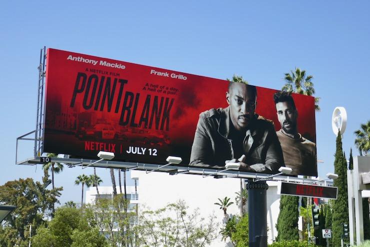 Point Blank movie billboard